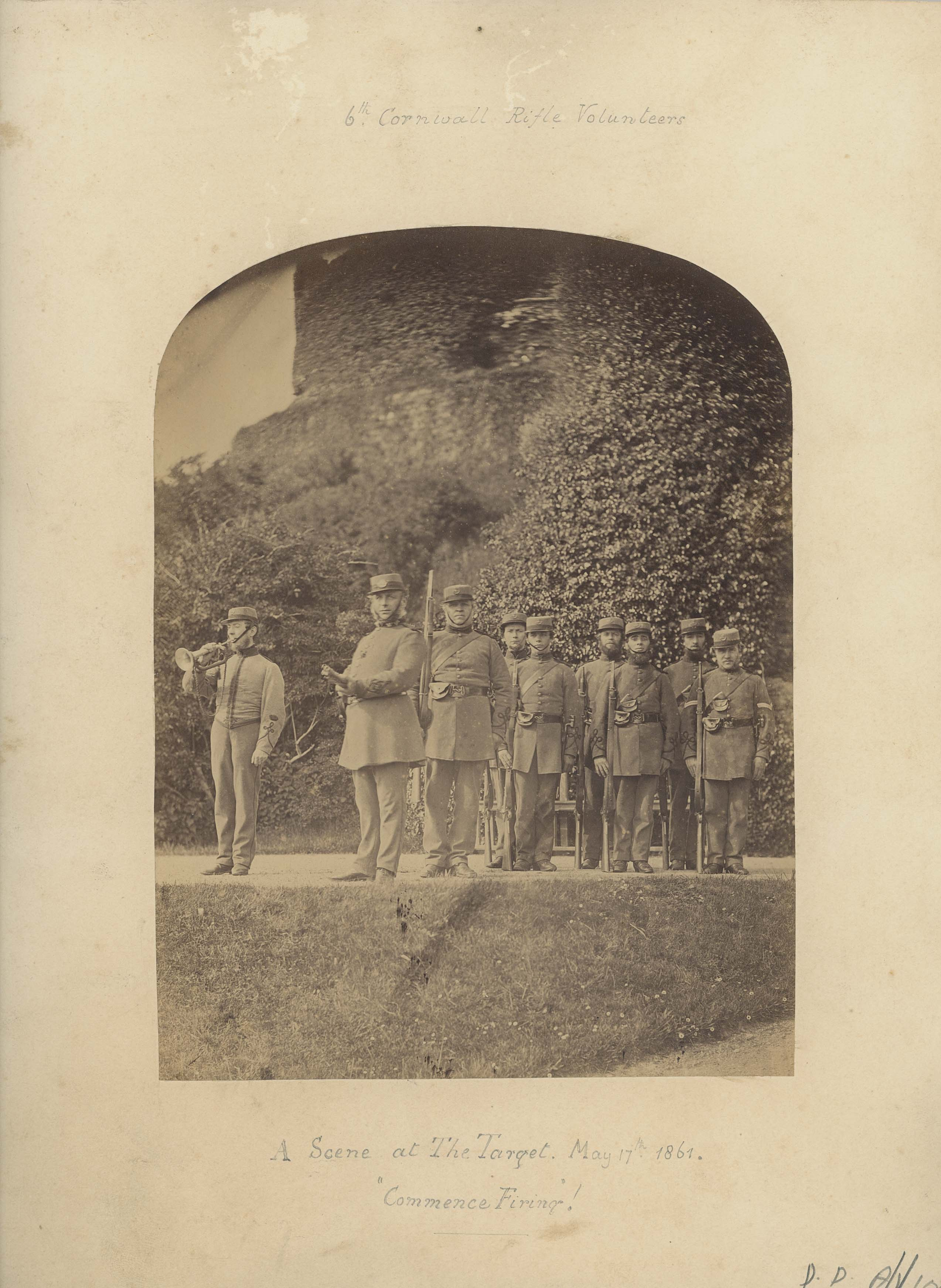 Photographs, 6th Cornwall Rifle Volunteers