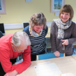 A photograph of Cornish Archives Network members receiving training