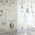 Pages from a book of sketches of inventions for use of india-rubber by William Pennington Cocks.