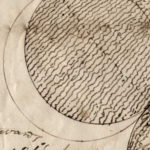 Extract from letter from John Couch Adams including sketch of eclipse.