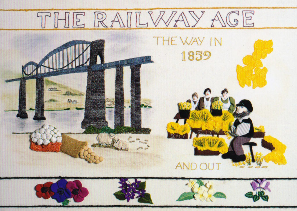 The 'Railway Age' Tregellas Tapestry.