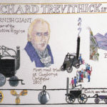 The 'Richard Trevithick' Cornwall Tapestry.