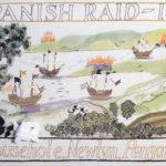 The 'Spanish Raid' Cornwall Tapestry.