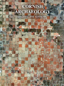 The front cover of Cornwall Archaeology, number 55, 2016