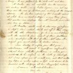 Scan of handwritten letter from James Watt.