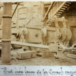 Photograph showing machinery built at Harvey's foundry.