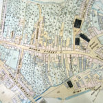 An extract for the tithe map for St Mary's, Truro, dating from 1841.