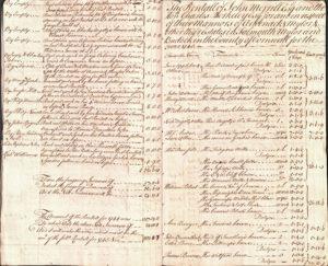 Photograph of handwritten manuscript.