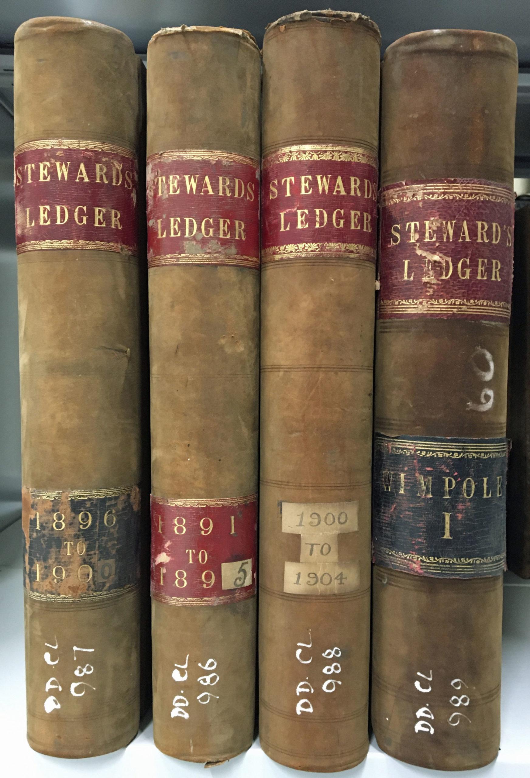 Colour photograph of books.