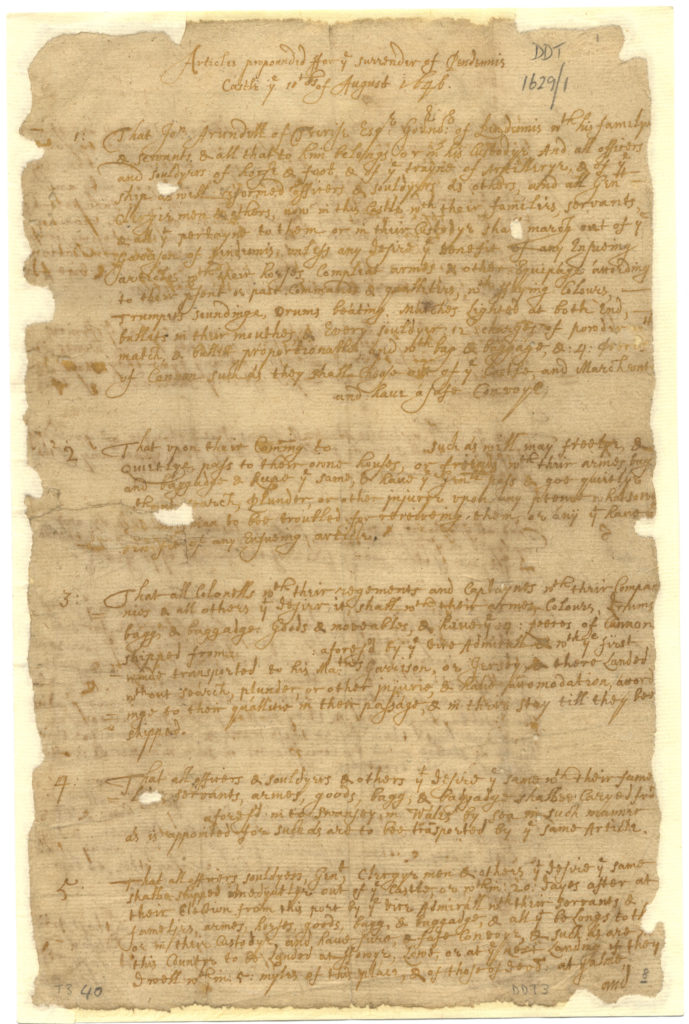 Colour scan of handwritten document.
