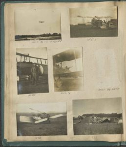 Image of a photograph album page.