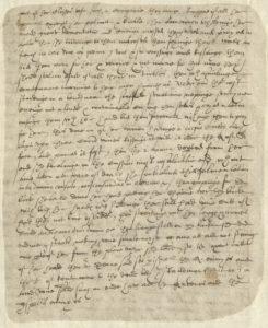 Scan of handwritten Tudor document.