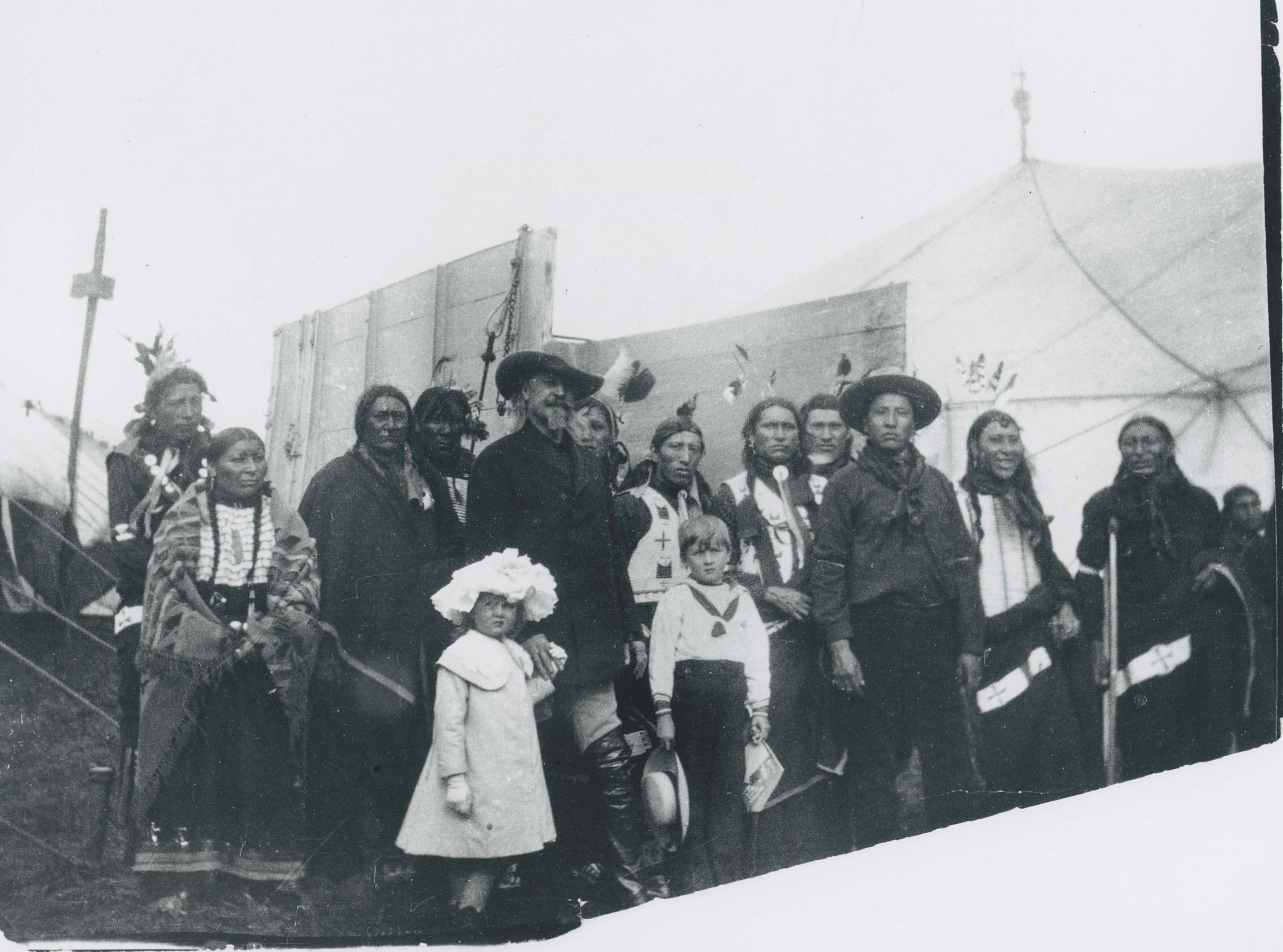 Photograph of a group of people.