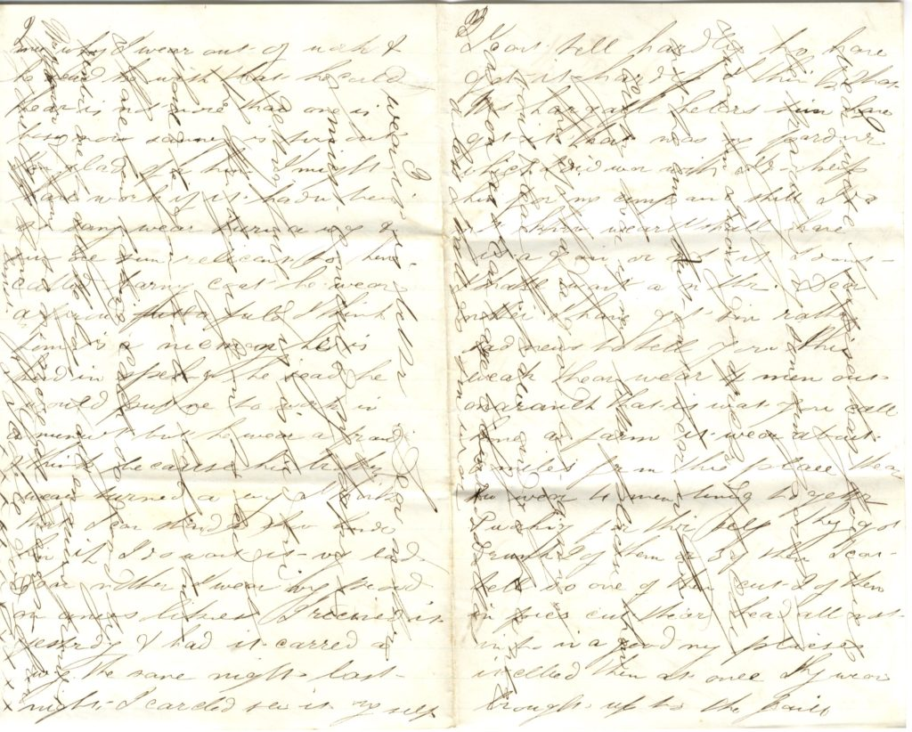 Image of a handwritten letter