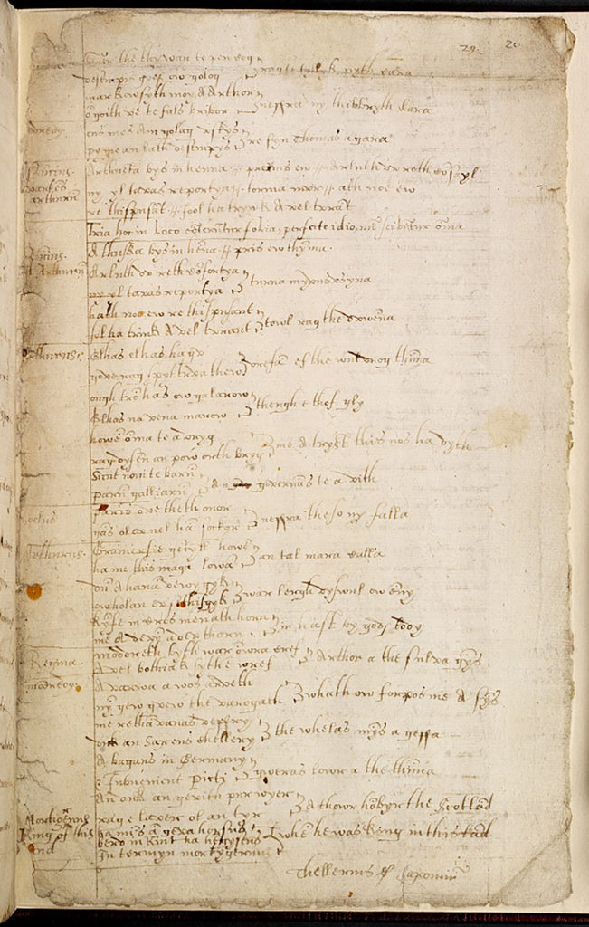 Page of text from a manuscript.