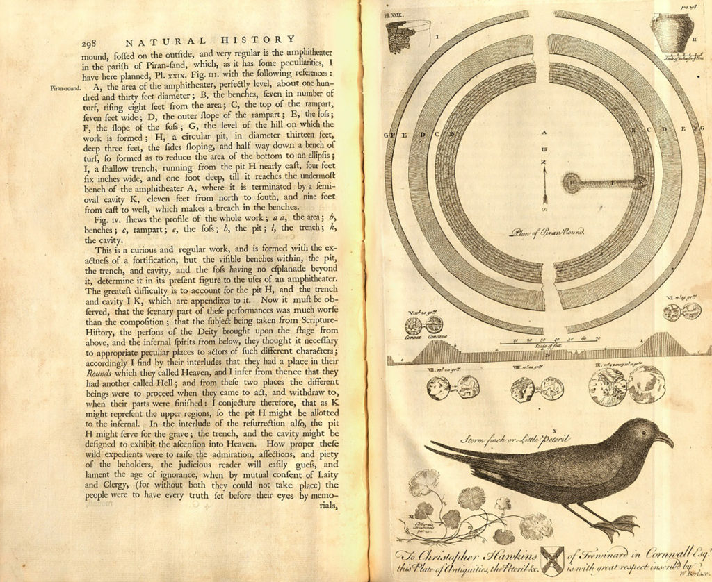 Image of two pages from an antiquarian book.